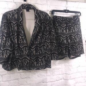 Fashion to Figure 2 Piece Suit Sz 3x
